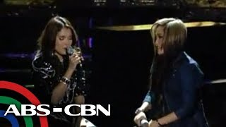 KZ Tandingan performs duet with Charice