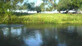 Красота малой реки средней полосы России