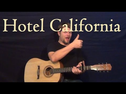 how to play solo hotel california on guitar