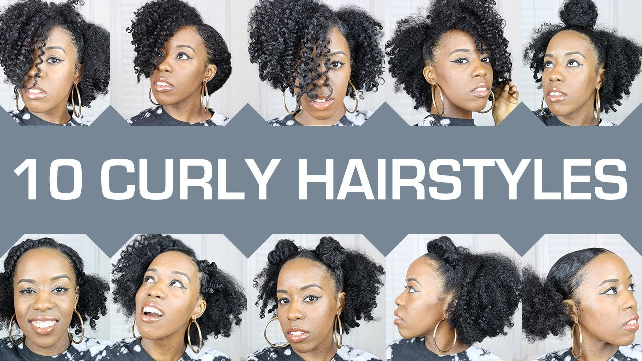 Bored With Your Natural Hair Quick Easy Curly Natural Hairstyles 2018