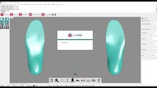 LutraCAD Insole - Create a Flip-Flop