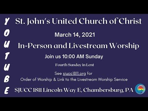 "Ucc 2021 ""Christmas Eve"" ""Order Of Worship"" St John S Ucc Chambersburg Pa Youtube"