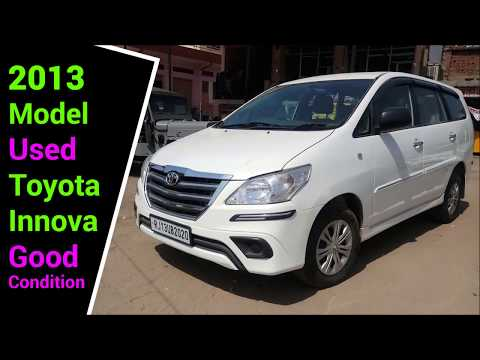 2013 Model  Used Toyota Innova Good Condition Car