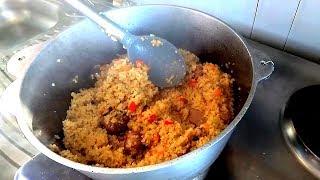 ПЛОВ из БУЛГУРА + салат - 2 рецепта