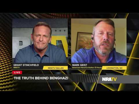 "NRATV Live | Benghazi Hero Mark Geist Agrees ""Hillary Clinton has Blood on Her Hands."" - 10/12/2016"