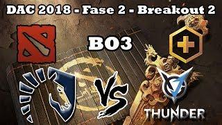 Dota 2 EN VIVO - Team Liquid vs VG.J Thunder BO3 DAC 2018 BREAKOUT #2