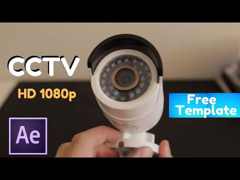 CCTV for business | After Effects Template.