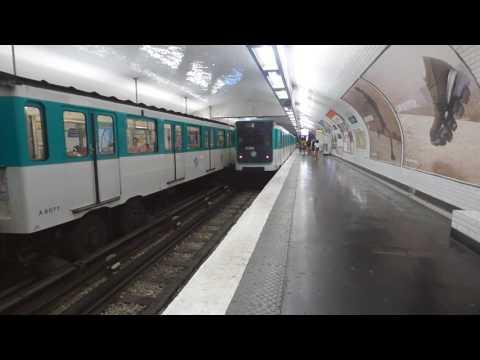 Paris Metro line 11 - 1959 train