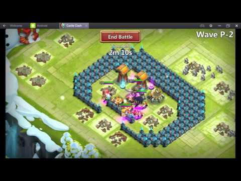 Castle Clash TH 15 Hbm P Half Loaf Base