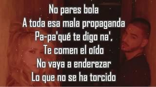 Chantaje Shakira Ft Maluma (lyrics) (letra) download Karaoke