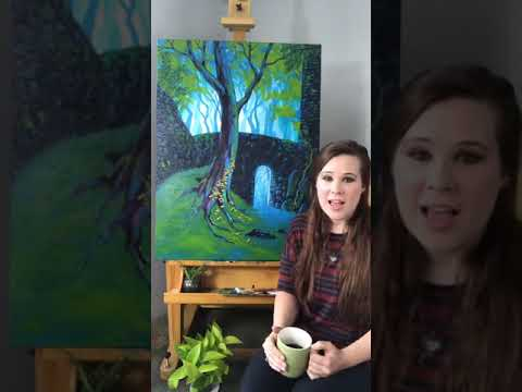 "Art & Soul with Artist Kathleen Roling - ""Come Away"""