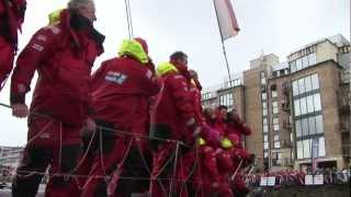 A Massive welcome for the crew of the Derry~Londonderry