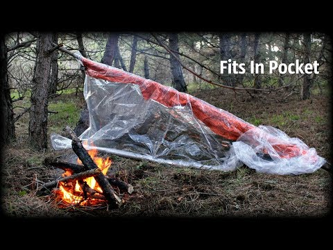 Portable Survival Super Shelter - Bushcraft , Survival Kit - HD Video