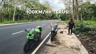 TOURING MALANG-BALI ZX636 ft. YAMAHA R1M (PART 1)