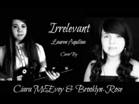 Irrelevant- Lauren Aquilina Cover