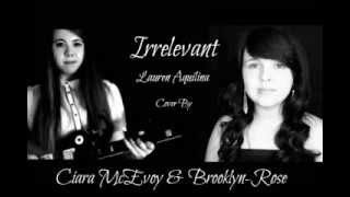 Irrelevant- Lauren Aquilina Cover