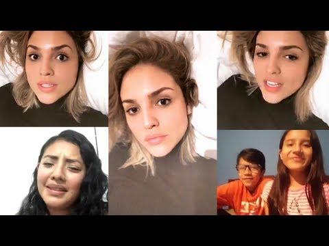 Eiza González | Instagram Live Stream | 16 February 2018