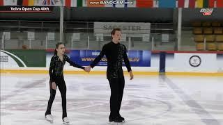 Appolinaria Panfilova Dmitry Rylov Аполлинария Панфилова Дмитрий Рылов SP Volvo Open Cup 2019