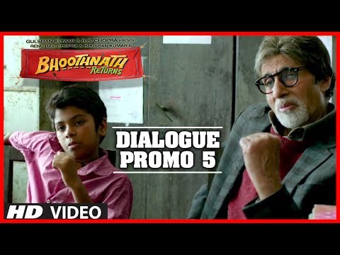 Kaise Dikhega?? Kanoon Toh Andha Hota Hai | Bhoothnath Returns Dialogue Promo | Amitabh Bachchan