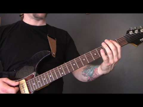 Led Zeppelin - Immigrant Song Guitar Lesson
