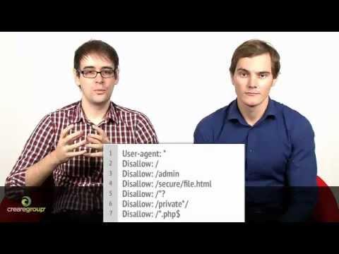 Robots.txt (Robots File) Explained - SEO Video Tutorial