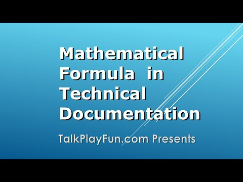Mathematical Formula, equations, in Doxygen, HTML, Markdown, LaTeX using Visual Studio Code