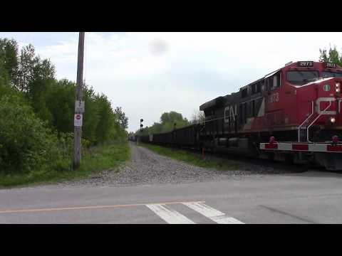 A Part of CN 309 (Mixed) lol @ Newtonville ON Canada 24MAY17 ES44AC 2973 Leading