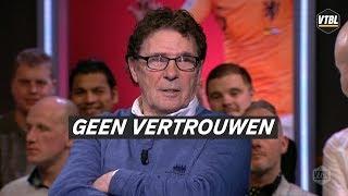 Van Hanegem heeft weinig vertrouwen: 'Totaal geen vastigheid bij Feyenoord' - VTBL