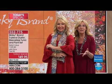 HSN | Slinky Brand Fashions 08.12.2017 - 06 AM