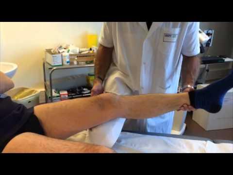 Examen clinique du genou ligamentaire
