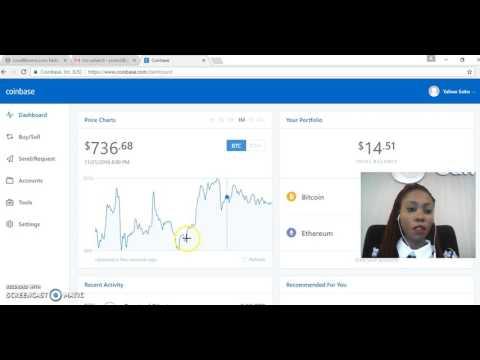 How To Buy / Sell / SEND Bitcoins On Coinbase.com