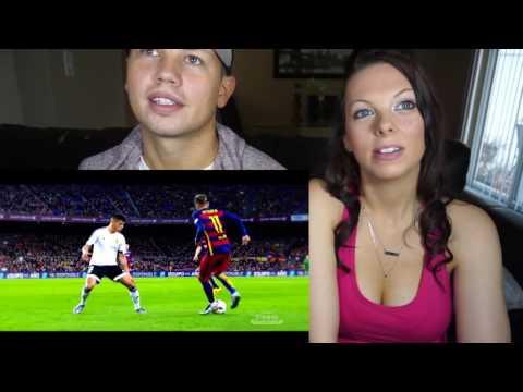 Messi - Suarez - Neymar | MSN | Skills & Goals | Reaction