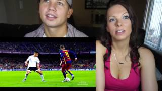 Messi - Suarez - Neymar   MSN   Skills & Goals   Reaction