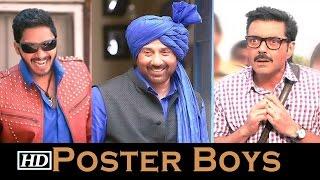 Poster Boys First look | Sunny Deol, Bobby Deol & Shreyas Talpade