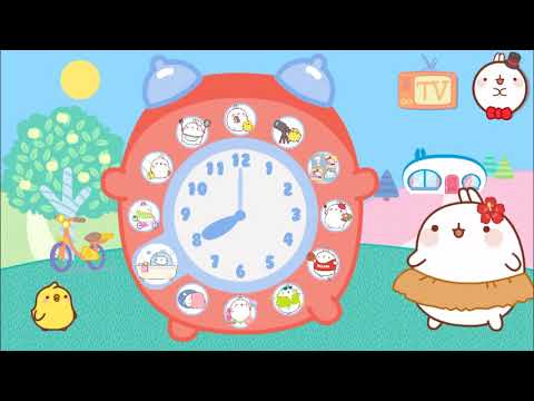 Molang: A Happy Day  -  Animated Game For Kids