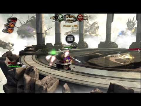 GOD OF WAR ASCENSION MULTIPLAYER - Leveling up my Godly Spear of Ares