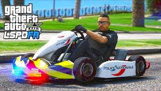 *NEW* Police Go-Kart Patrol!! (GTA 5 Mods - LSPDFR Gameplay)