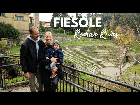 Best Views overlooking Florence - Fiesole Amphitheatre & Monastery | Tuscany Family Travel Vlog