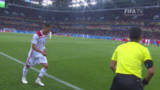 Set Play Analysis - Corner Goals Clip 6 - FIFA World Cup™ Russia 2018