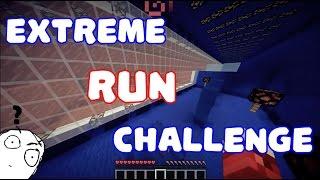 Minecraft | Extreme Run Challenge  - КААК ? КОООЙ ?