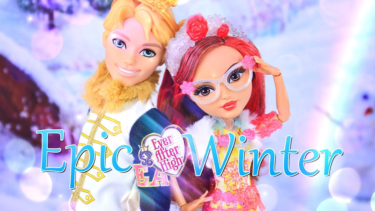 Unbox Daily Ever After High Epic Winter Daring Charming