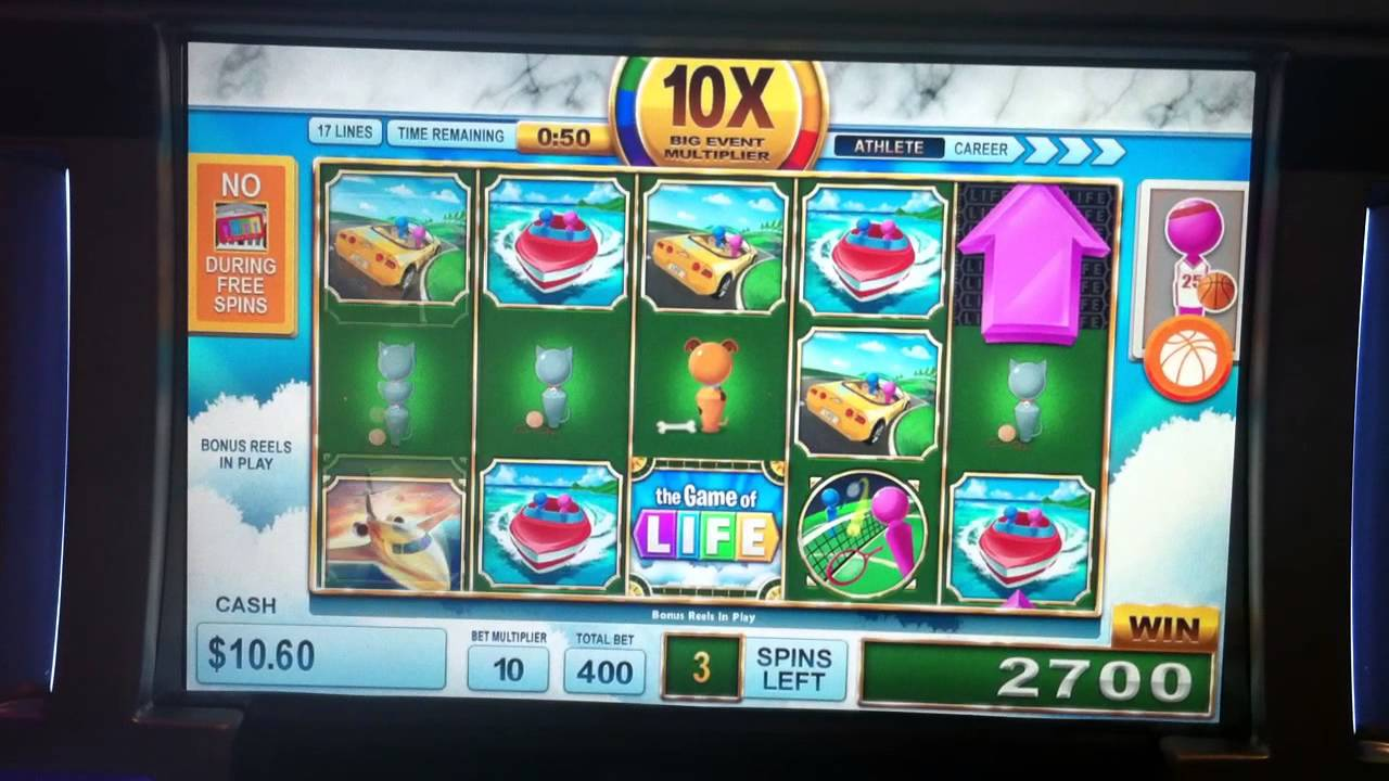 Game of Life Slot Features