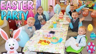 KIDS ONLY Easter Party Skit with GIANT Surprise Egg!!