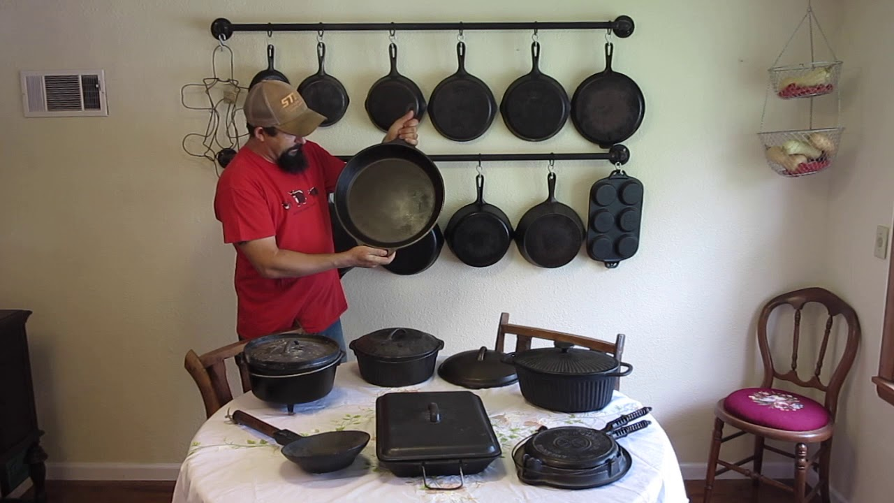Our Cast Iron Collection Amp Wall Rack Youtube
