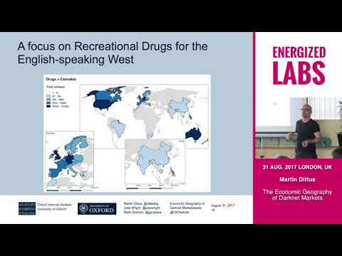 The Economic Geography of Darknet Markets - Martin Dittus at Energized Labs