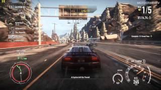 Need for Speed Rivals PC - Lamborghini Sesto Elemento Gameplay