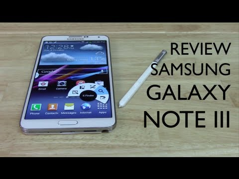 Review Samsung Galaxy Note III - Análisis completo