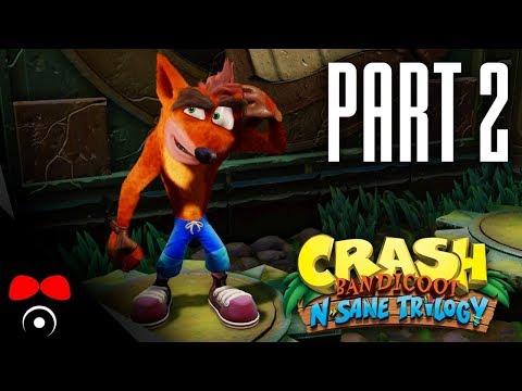 PRASOJÍZDA! | Crash Bandicoot N. Sane Trilogy #2
