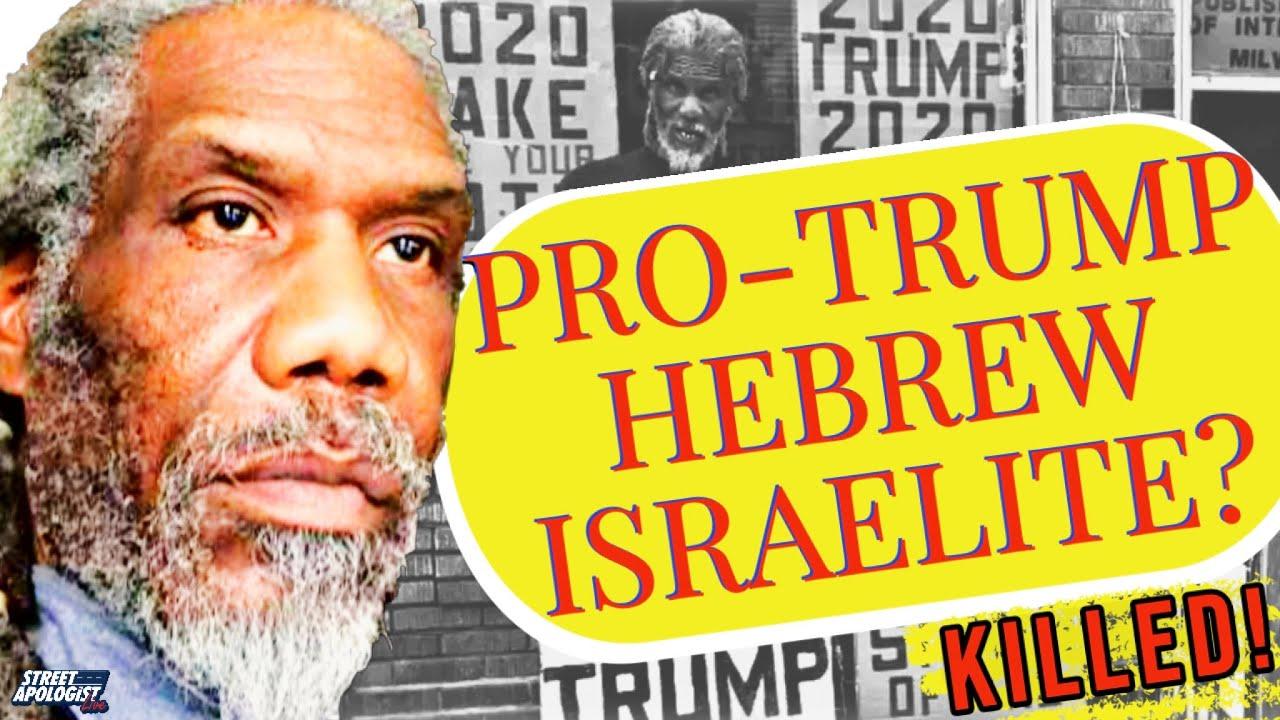 Hebrew Israelite Trump Supporter MURDERED!