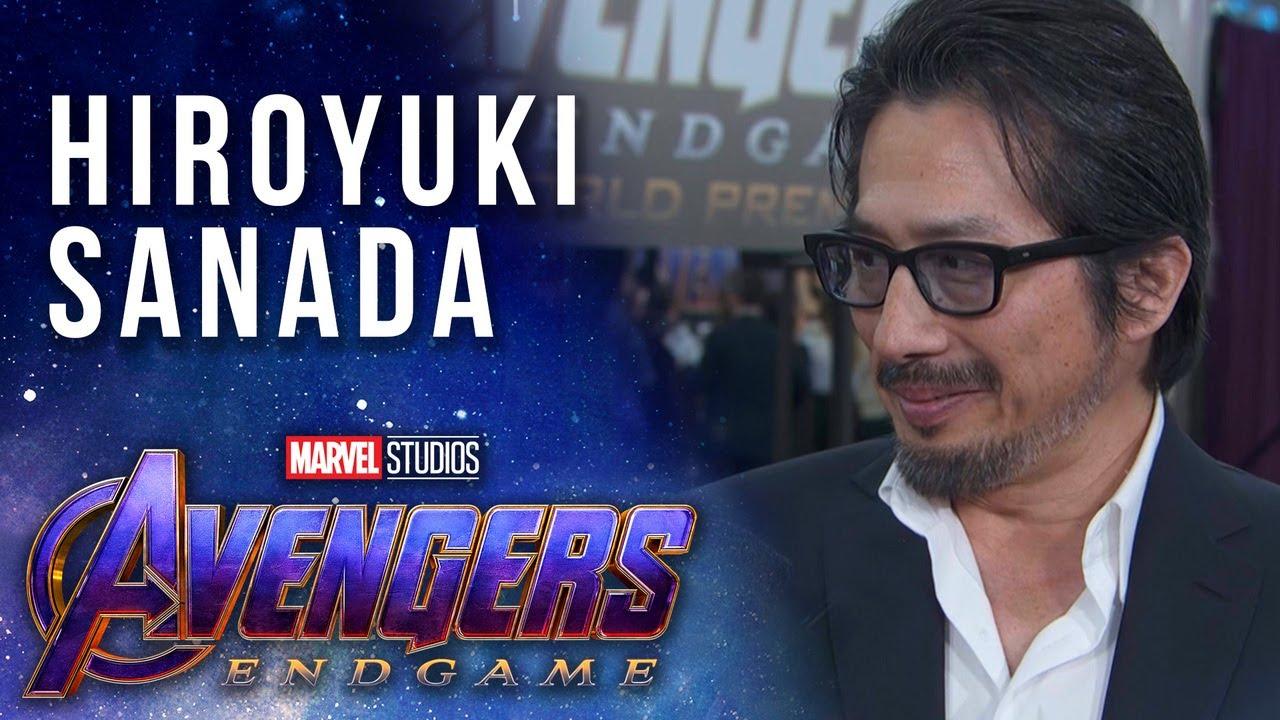 Hiroyuki Sanada joins the MCU LIVE from the Avengers: Endgame Premiere